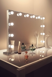 Hollywood spiegel kaufen g nstige theaterspiegel im - Theaterspiegel mit beleuchtung ...