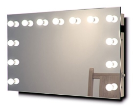 Diamond X Wandhalterung Hollywood Make-up Spiegel mit Cool weiß dimmbar LED k91cw -