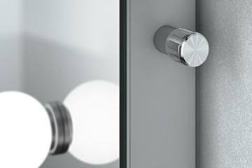 Hollywood-Schminkspiegel für die Garderobe mit kaltweißen dimmbaren LEDs k411CW - 3